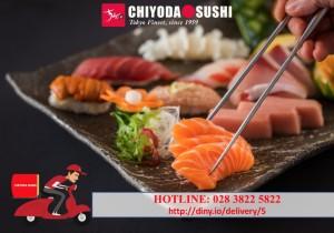Tận hưởng hương vị chuẩn Chiyoda Sushi tại nhà