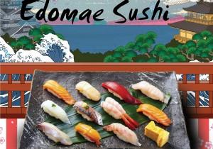 Edomae Sushi – điểm nhấn đặc sắc khi nhắc đến văn hóa ẩm thực Nhật Bản